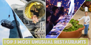 5 unusual Restaurants
